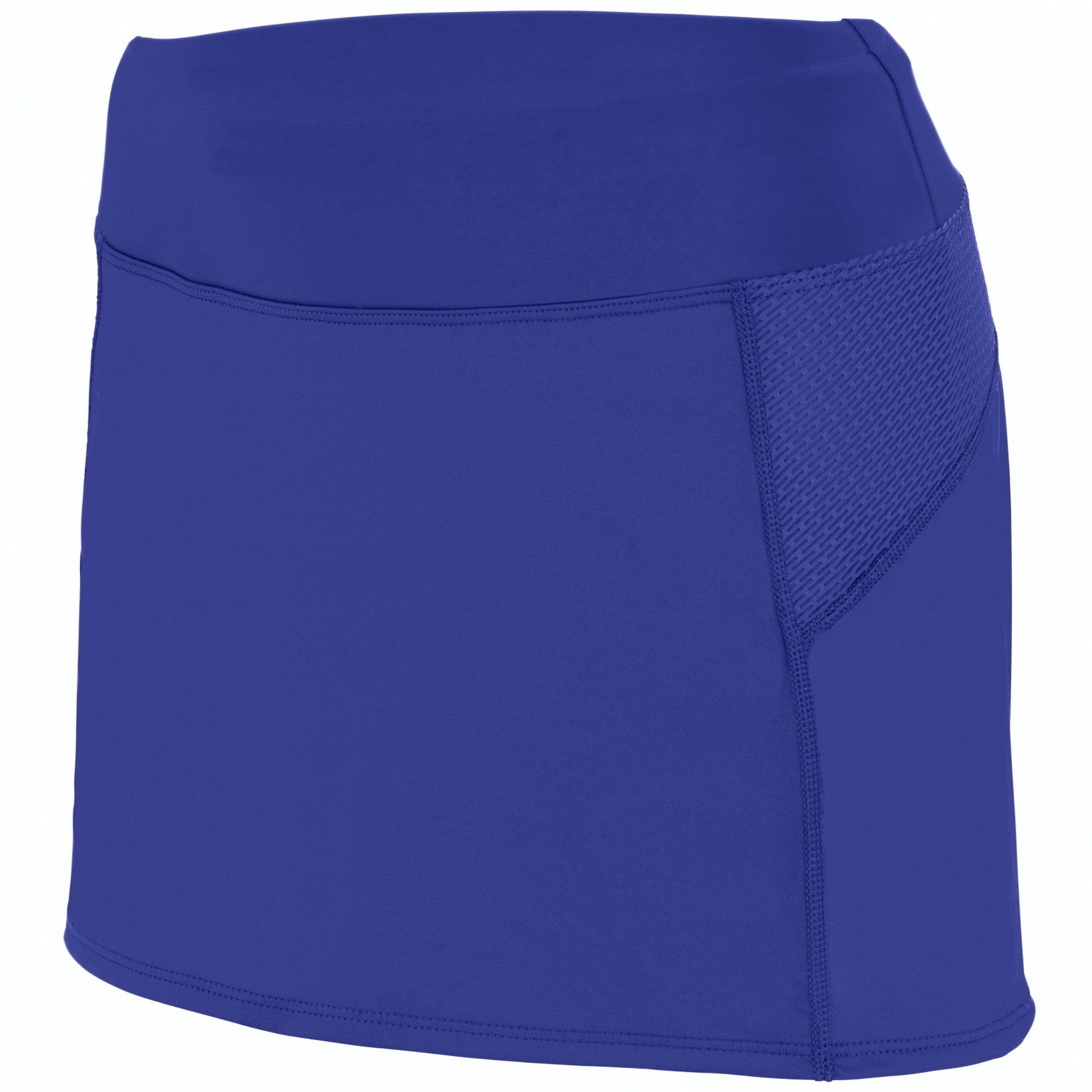 Augusta Sportswear Girls Femfit Skort S Purple/Graphite by Augusta Sportswear