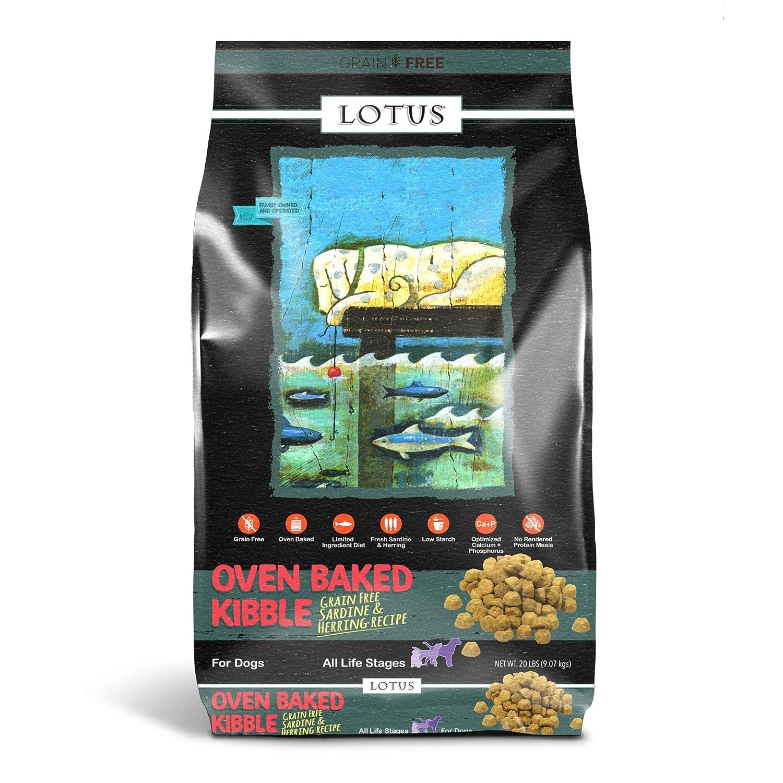Lotus Dry Dog Food, 20 Lb, Sardine And Pollock