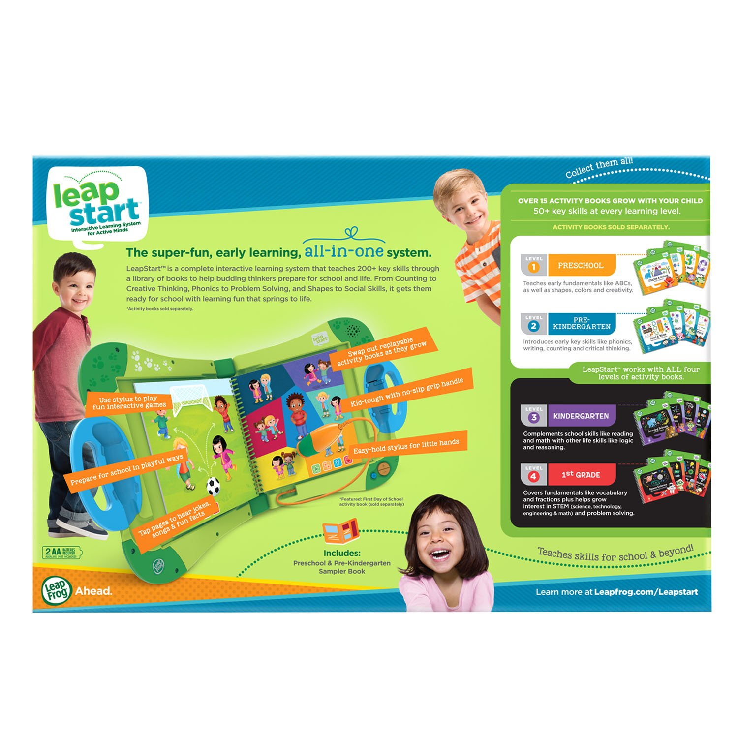LeapFrog LeapStart Interactive Learning System Preschool and Pre-Kindergarten My Pal Scout by LeapFrog (Image #7)