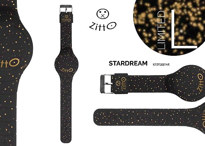 Orologio ZITTO piccolo a led con cinturino in silicone Limited Edition  STARDREAM P Amazon.it Orologi