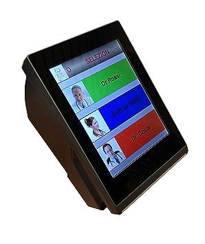 Sistema de Gestión de cola Mini t-ticket billete dispensador máquina: Amazon.es: Oficina y papelería