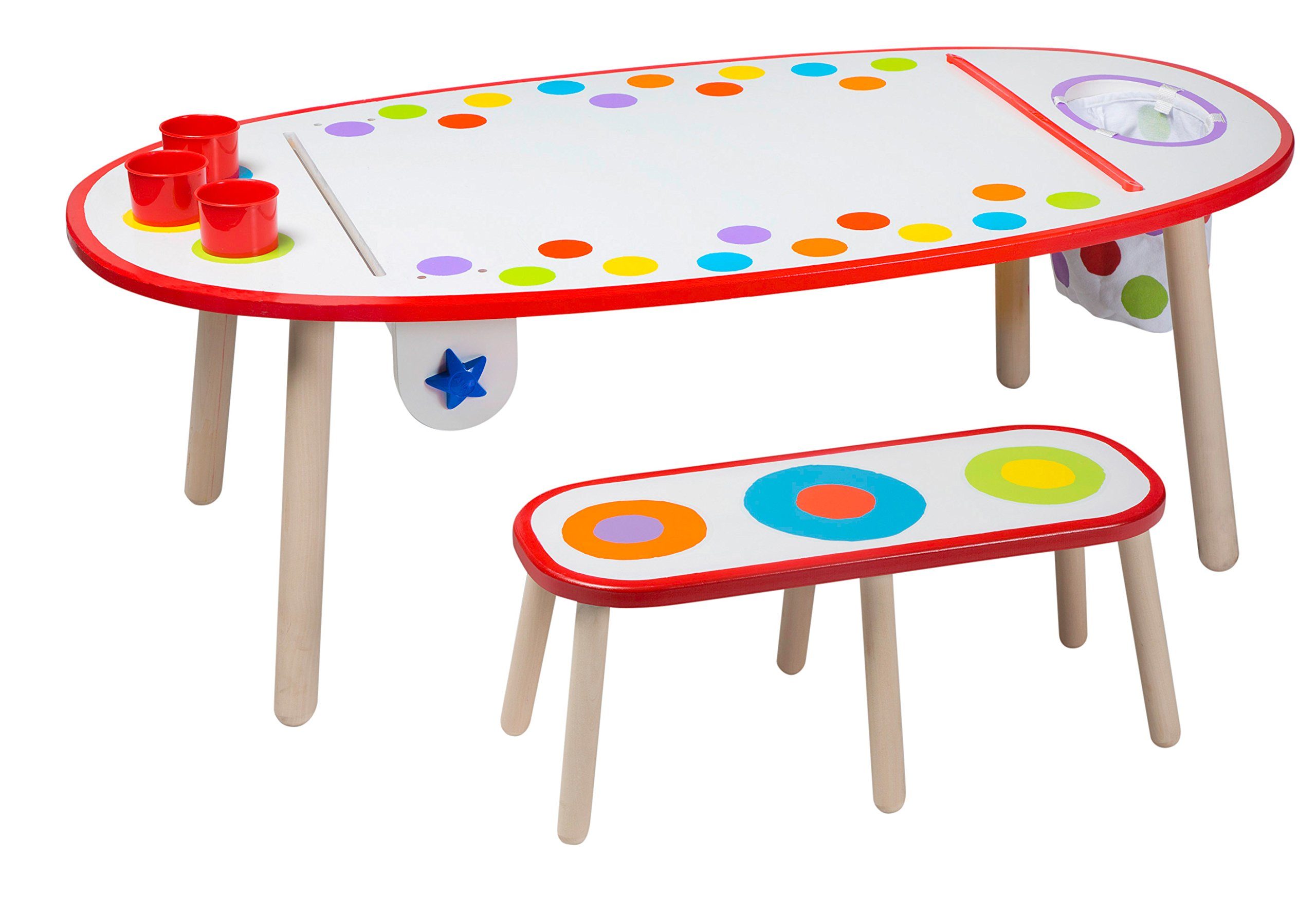 ALEX Toys Artist Studio Super Art Table Rainbow Dots