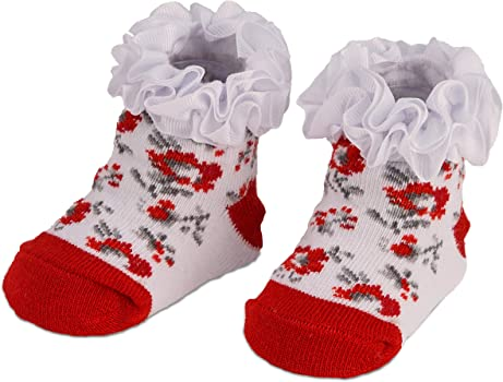 NEW MUD PIE CHRISTMAS BOOTIES-2 PAIRS IN BOX-SIZE 0-12 MONTHS-NEW IN BOX-CUTE!!!