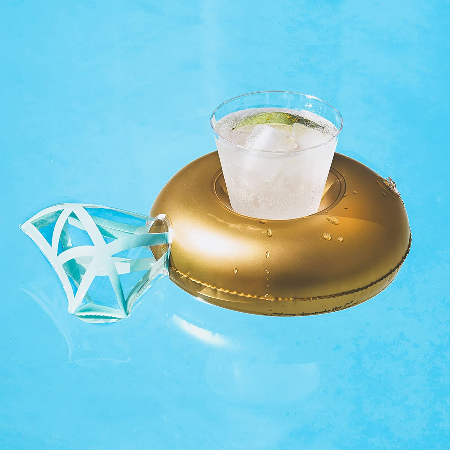 Amazon 4 Pack Gold Diamond Pool Rings Drink Cup Holder Bling For Any Bachelorette Party By Frctl Small Toys Games: Wedding Ring Pool Toy At Reisefeber.org