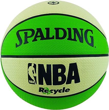 Spalding - Balón de baloncesto NBA Recycle, tamaño 7: Amazon.es ...