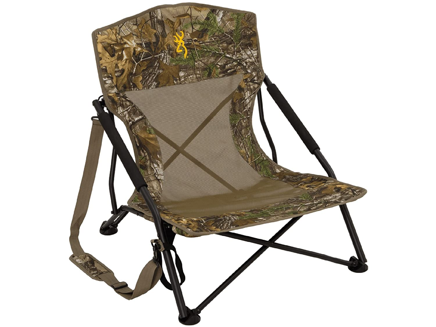 Astonishing Amazon Com Browning Strutter Low Profile Chair Realtree Inzonedesignstudio Interior Chair Design Inzonedesignstudiocom