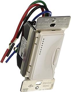 Eaton RF9534AW ASPIRE 600W RF Incandescent/MLV Smart Dimmer, Alpine White