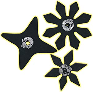 Rubie's Brotherhood of the Dragon Rubber Ninja Stars Costume Accessory Set of - One Size