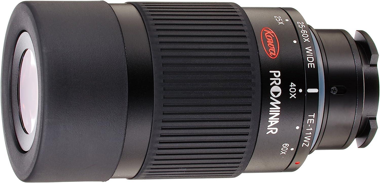 Kowa TE-11WZ - Ocular con Zoom 25-60x, Color Negro