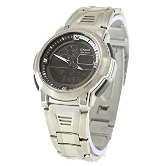 Amazon.com: Casio General Mens Watches Standard Active Dial AQF-102WD-1BVDF - WW: Casio: Watches