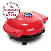 Dash Mini Maker: The Mini Waffle Maker Machine for Individual Waffles, Paninis,...