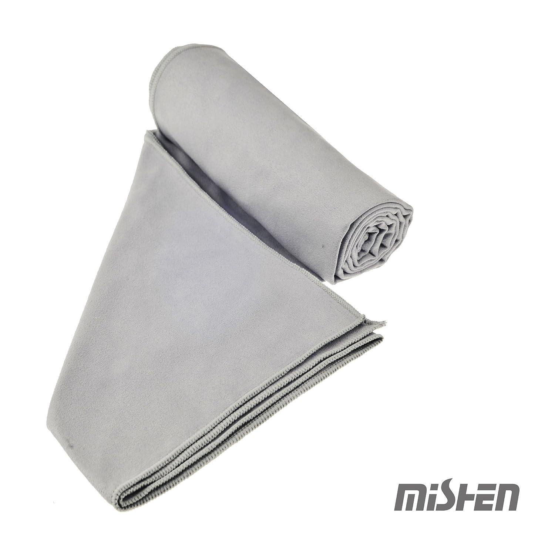FAIRYCOOL Secado rápido, microfibra , toalla de viaje/toalla deportiva,muy absorbente, ligera, compacta,medidas 51