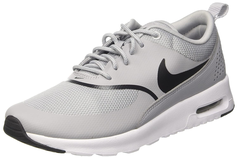 Nike Women's Air Max Thea Gymnastics Shoes, Grey (Wolf GreyBlack 030), 3 UK 36 EU