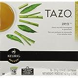 Starbucks Tazo Tea Zen Green Tea, 16 K-Cups for Keurig Brewers