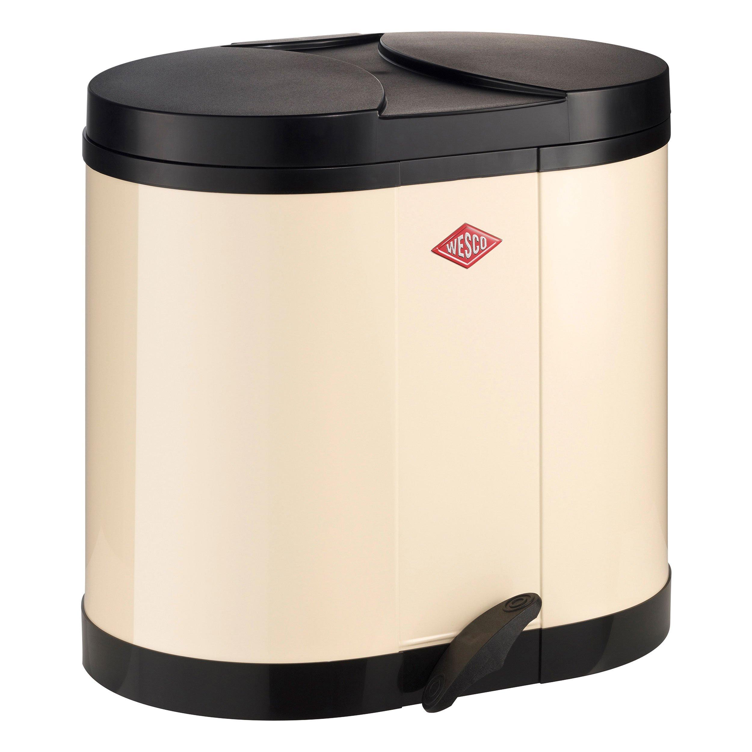 Wesco 170 611-23 Eco Bin 2 x 15 L Almond