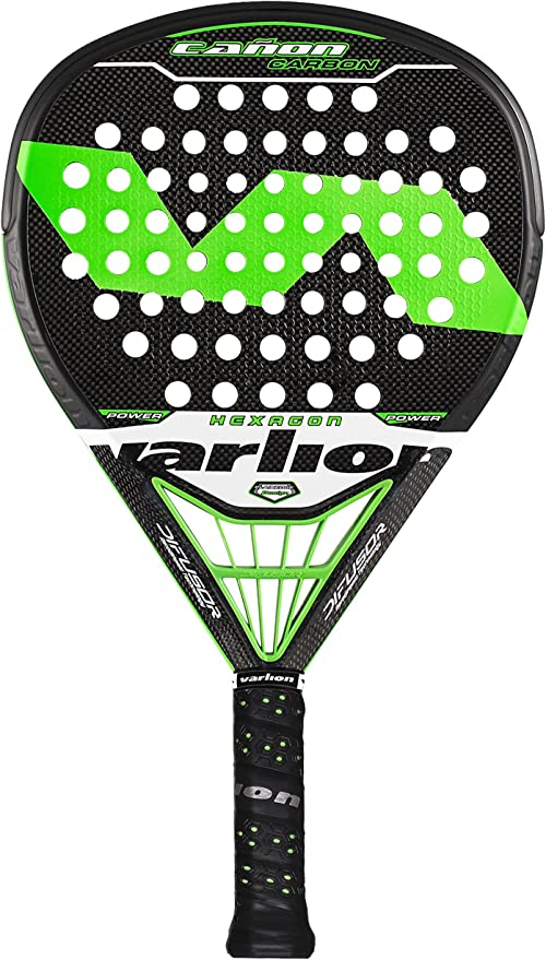 VARLION Cañon Carbon Hexagon Difusor - Pala de pádel Unisex, Color ...