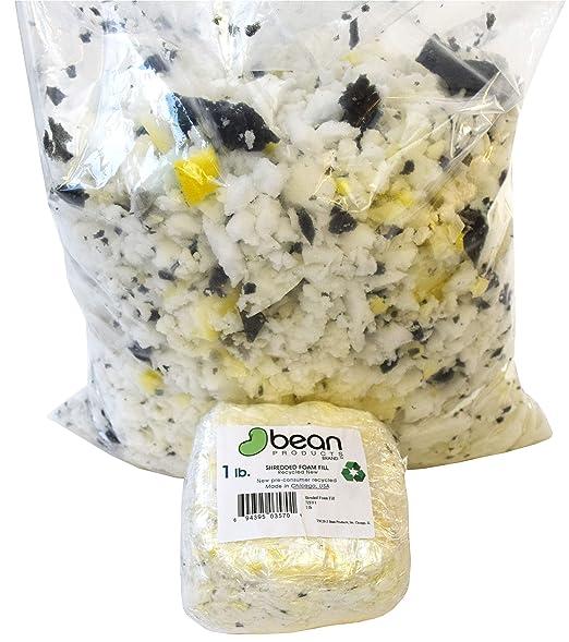 Amazon.com: Relleno de gomaespuma triturada, para reciclado ...