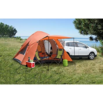 Backroadz 10x10-Ft 6-Person SUV Tent  sc 1 st  Amazon.com : backroadz suv tent - memphite.com