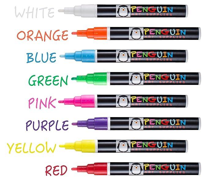 Amazon.com: Biromes marcadores para pizarra, para artista ...