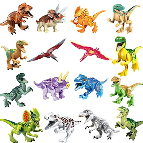 5 Styles Dinasour Toy Beauty Girl Boy Toys Mini Movie Kid Toy Building Blocks Sets Model Toys Mini Figur Brick Gift Birthday Model Building Kits