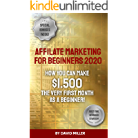 Affiliate Marketing For Beginners 2020: How You Can Make $1.500 The Very First Month As A Beginner!