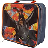 How To Train Your Dragon Childrens/Kids Official Insulated Lunch Bag (One Size) (Navy/Orange)