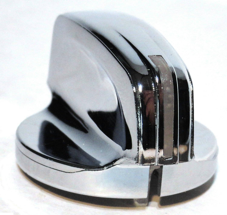 A//C Heater Control Knob GREEN DIAMOND Chrome for Peterbilt 2006 379 389 386 384