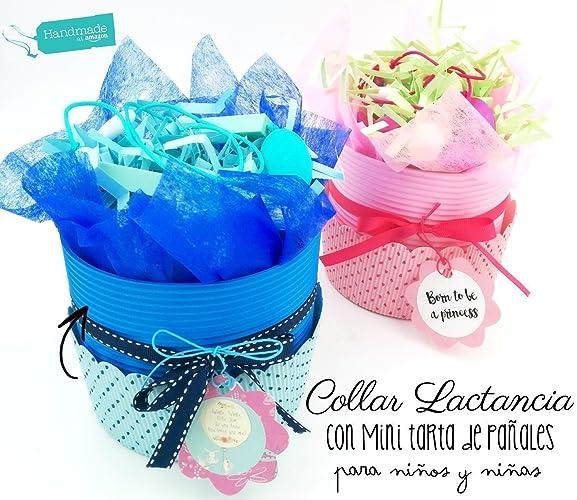 Maxi-Magdalena de Pañales con Collar de Lactancia para Bebés (100% Silicona Alimentaria