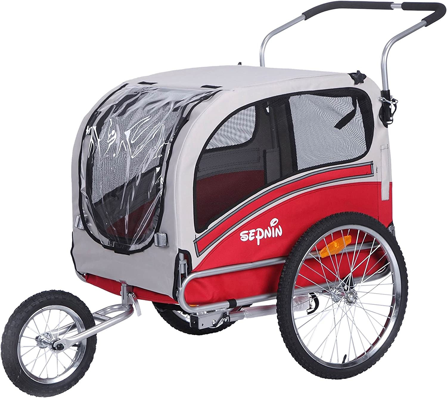 Sepnine Pet Dog Bike Trailer