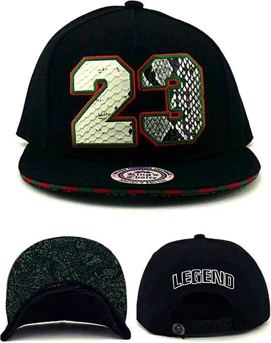 Kings Choice Chicago New Legend 23 Gorra de Gorra de Piel de ...