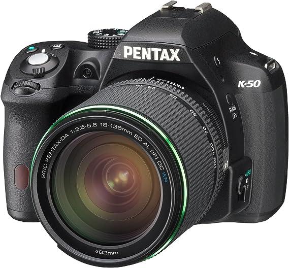 Pentax K50+18-135WR - Kit de cámara réflex Digital con Objetivo 18 ...