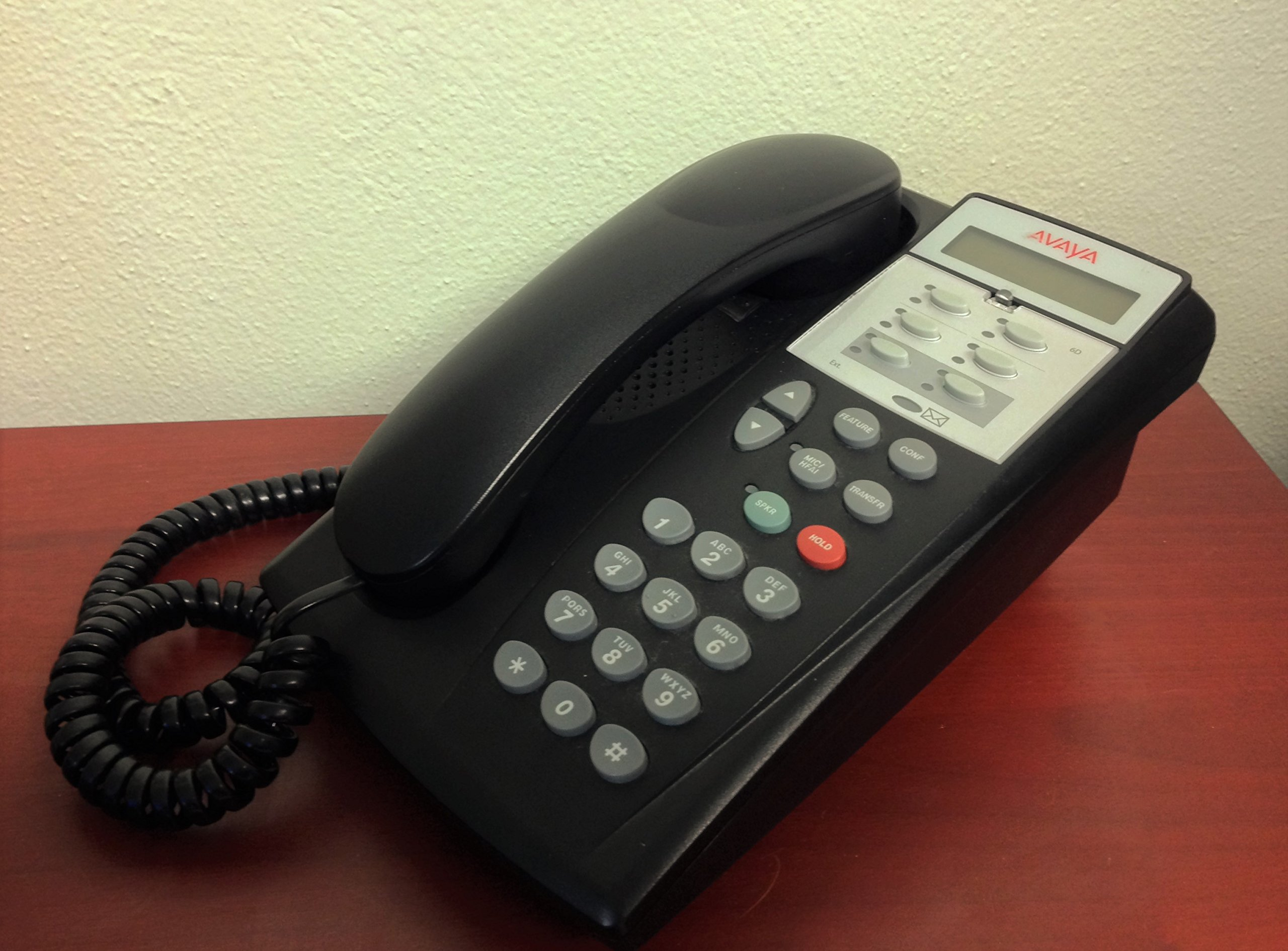 Partner 6D Series 2 Telephone - Black (700340169, 700419971)