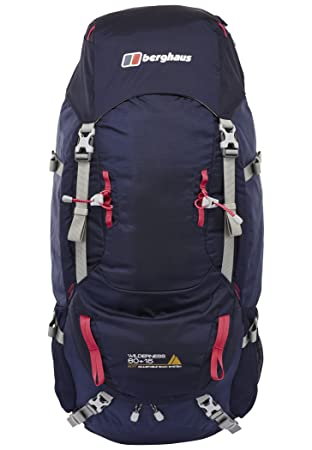 Berghaus Wilderness 60+15 Backpack blue 2018 outdoor daypack  Amazon ... f0d333566e485