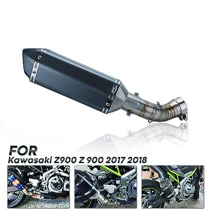 Para Kawasaki Ninja z900 2017-2018 Escape de escape Slip-on ...