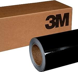 3M 1080 G212 GLOSS BLACK METALLIC 5ft x 2ft (10 Sq/ft) Car Wrap Vinyl Film