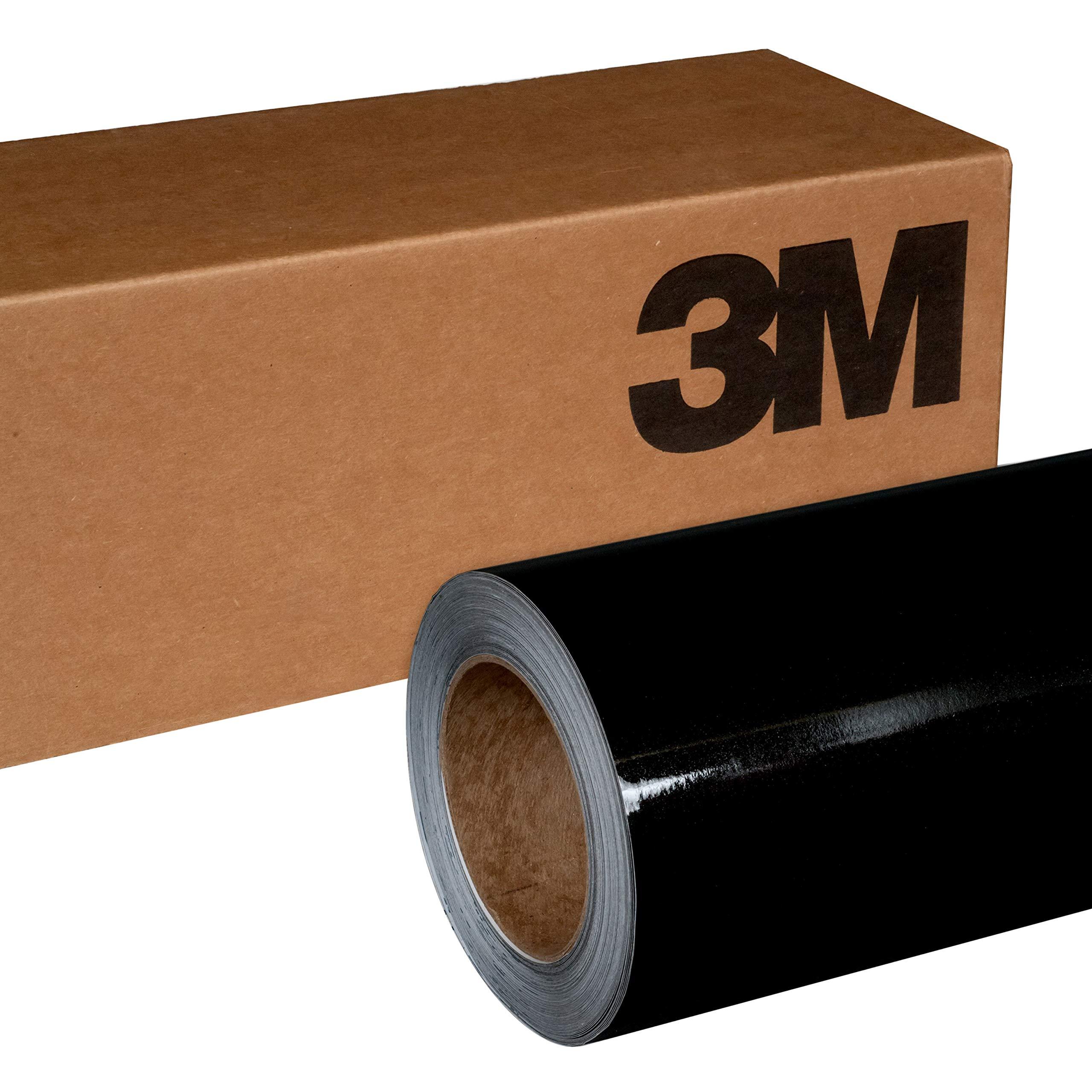 3M 1080 G212 Gloss Black Metallic 5ft x 5ft (25 Sq/ft) Car Wrap Vinyl Film by 3M (Image #1)