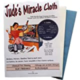Jude's Miracle Cloth Microfiber Cleaning Cloth 2 Pack for Windows Mirrors Crystal Eye Glasses TV Computer Screen…