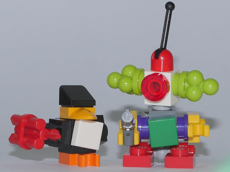 LEGO Super Heroes: Minfiguren Penguin Henchman und Clown Robot mit Zubehör aus dem Set 76035 NEU