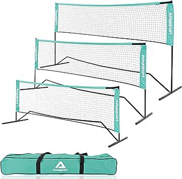 Badminton Volleyball Tennis Net Portable Standard Training Outdoor Garden Sports