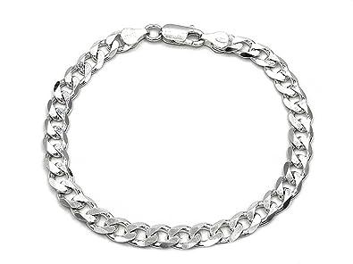 Wählen Sie für späteste offizieller Laden modisches und attraktives Paket Panzerarmband 925 Sterling Silber 6,7mm Länge wählbar 21-22 cm Panzerkette  Silberkette Silberarmband Armband Herren