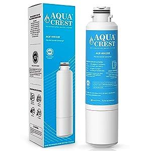 AQUACREST DA29-00020B Refrigerator Water Filter, Compatible with Samsung DA29-00020B, DA29-00020A, HAF-CIN/EXP, 46-9101