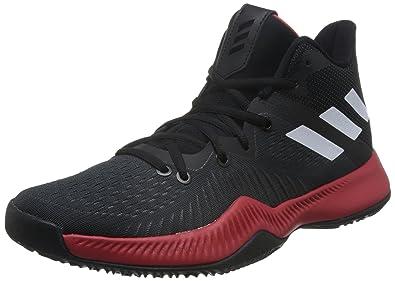 brand new 07a30 849a4 adidas Mad Bounce, Chaussures de Basketball Homme, Noir  (Negbás Ftwbla Seamhe