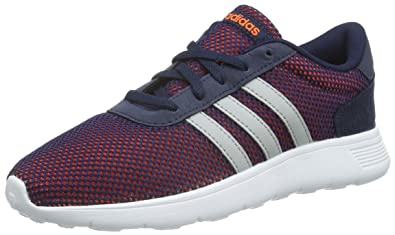 hot sale online 708a2 fee0f adidas Unisex Lite Racer Boys Trainers (3.5 UK)