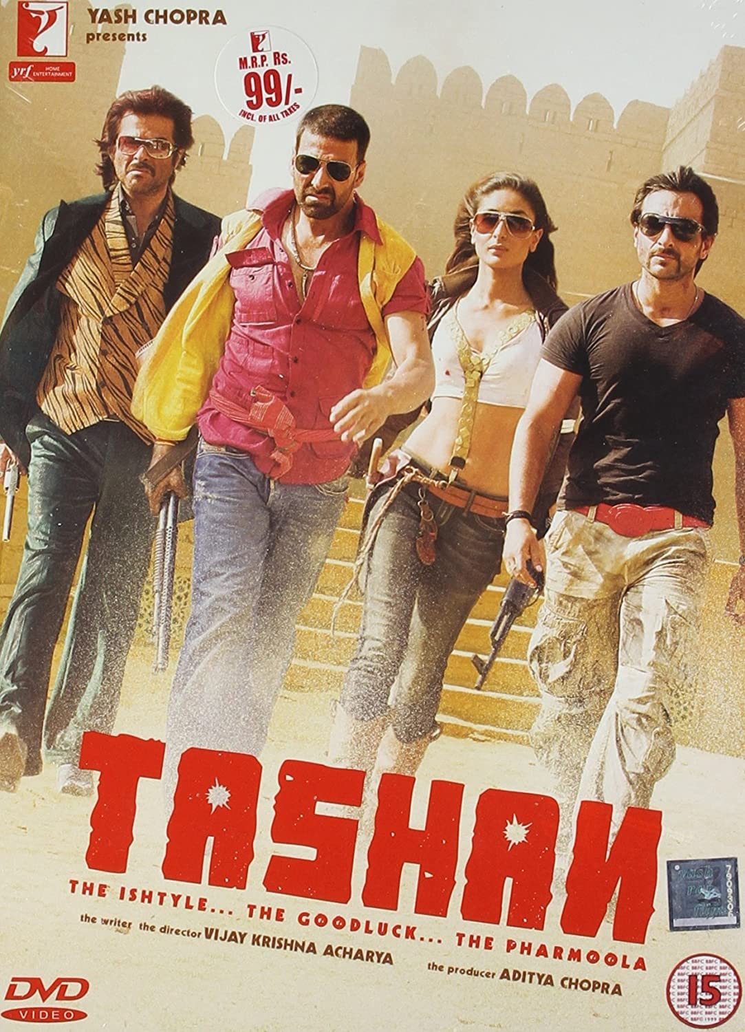 Tashan 2008 Hindi 480p & 720p HDRip