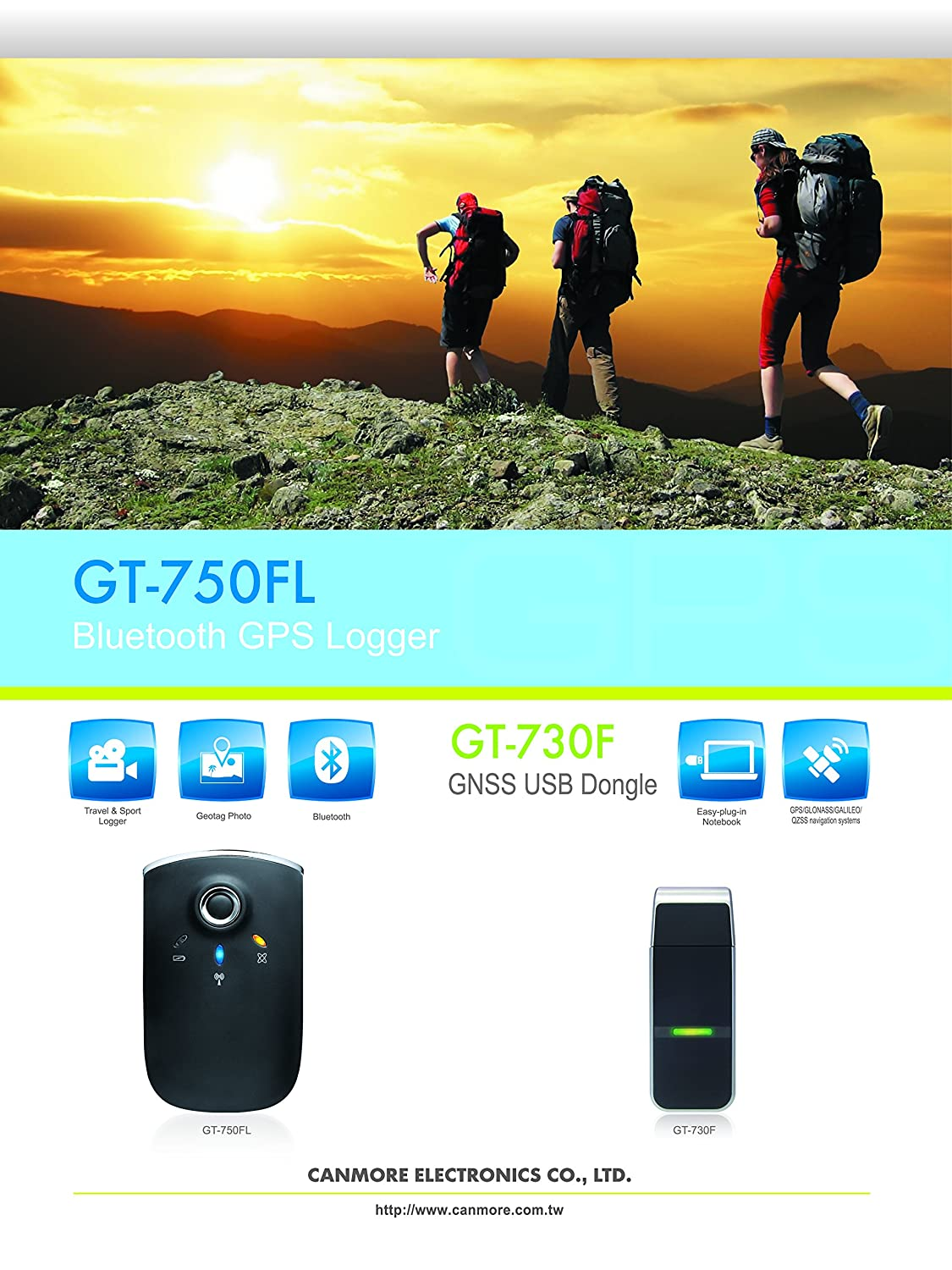 Amazon Com Canmore Gt Fl S Usb Gps Tracker Stick Data Logger Built In Rechargeable Battery Waas A Gps  Channels