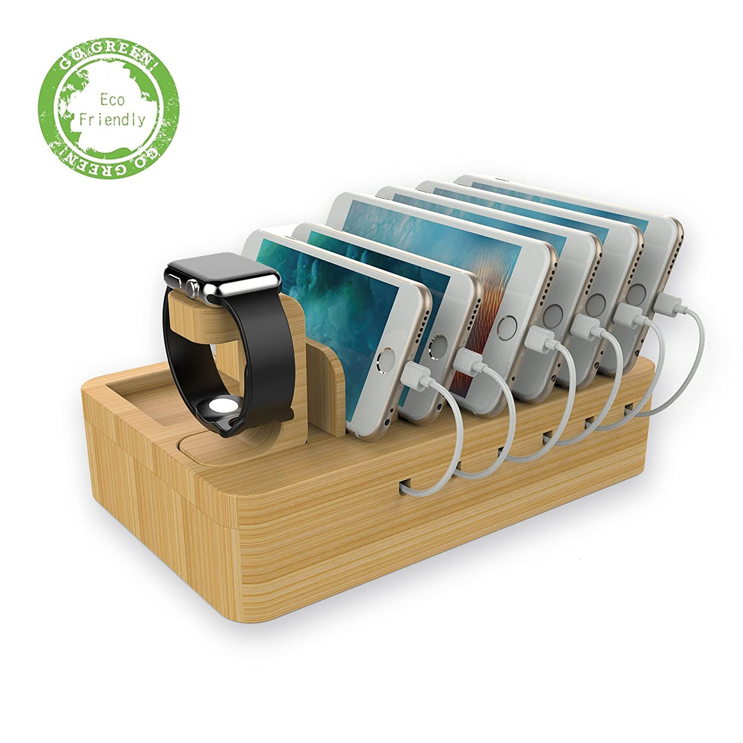 multiple port Apple device stand