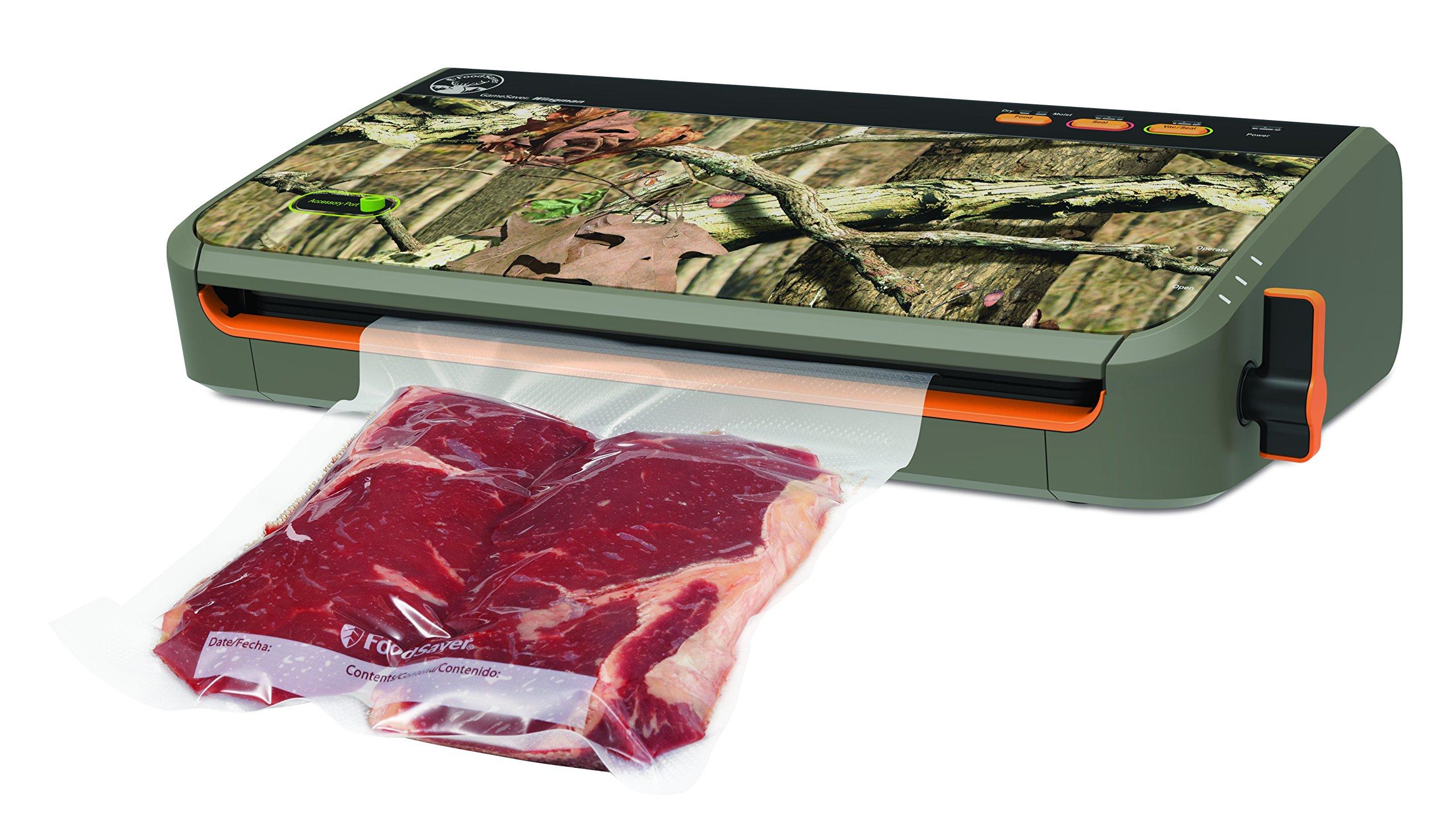 FoodSaver GameSaver Wingman Vacuum Sealing System, Designed for up to 60 Consecutive Seals, GM2150-000