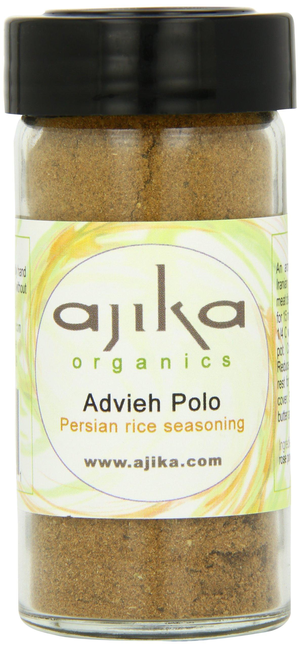 Ajika Organic Advieh-Persian 7 Spice Blend, 2-Ounce by Ajika