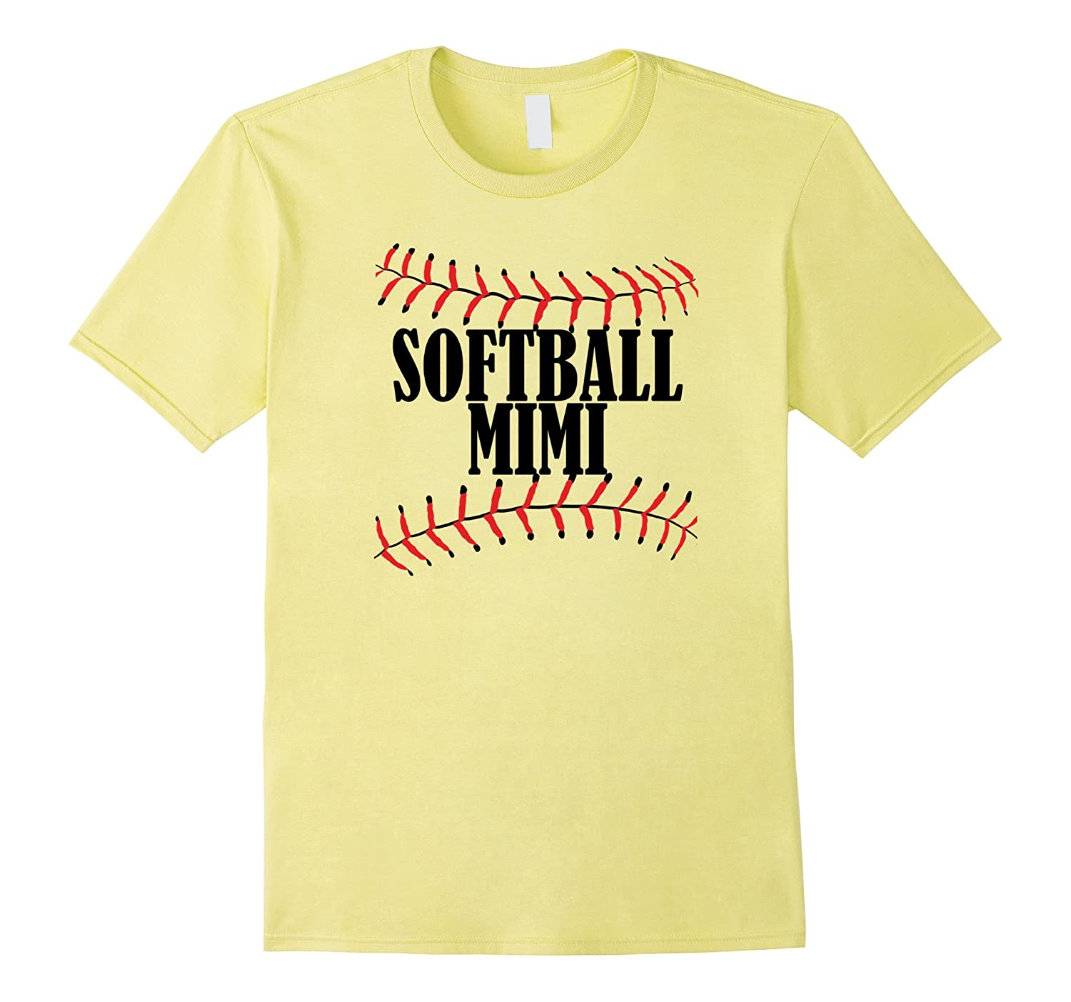 Softball MIMI Tshirt Grandma Grandparents Shirt Softball-CD