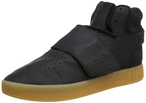 detailed look bf7f2 c61b1 adidas Men's Tubular Invader Strap Hi-Top Trainers: Amazon ...